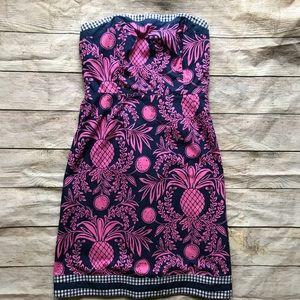 Lily Pulitzer strapless dress